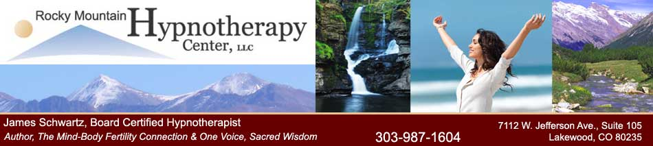 Rocky Mountain Hypnotherapy Center | Jim Schartz, Author The Mind-Body Fertility Connection
